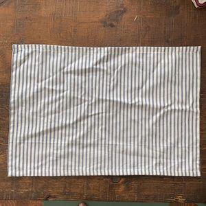 FOUR Cotton Striped Placemats